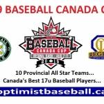 2019 BASEBALL CANADA CUP, Regina, Sask, Aug 7-11, 2019, Preliminary Information!