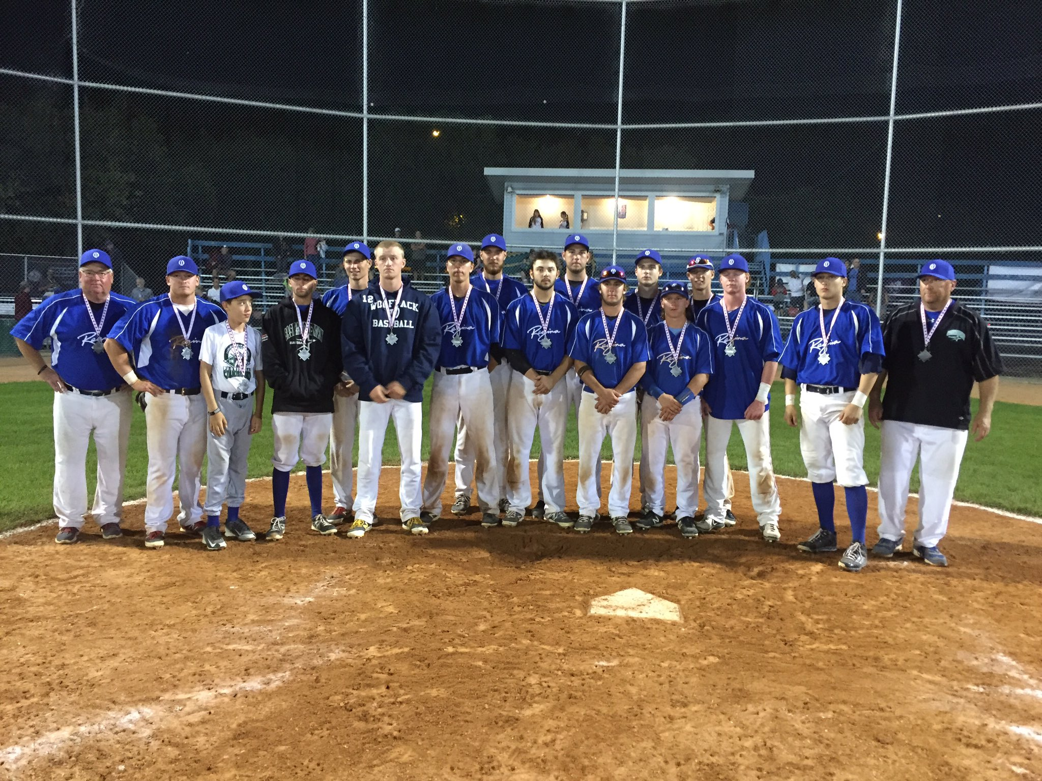 A VERY SPECIAL CONGRADUALTIONS TO COACH MYLES and THE REGINA OPTIMIST HOST TEAM!  INCREDIBLE BASEBALL !!!  SILVER MEDAL NATIONAL WINNERS !!! - Image 3