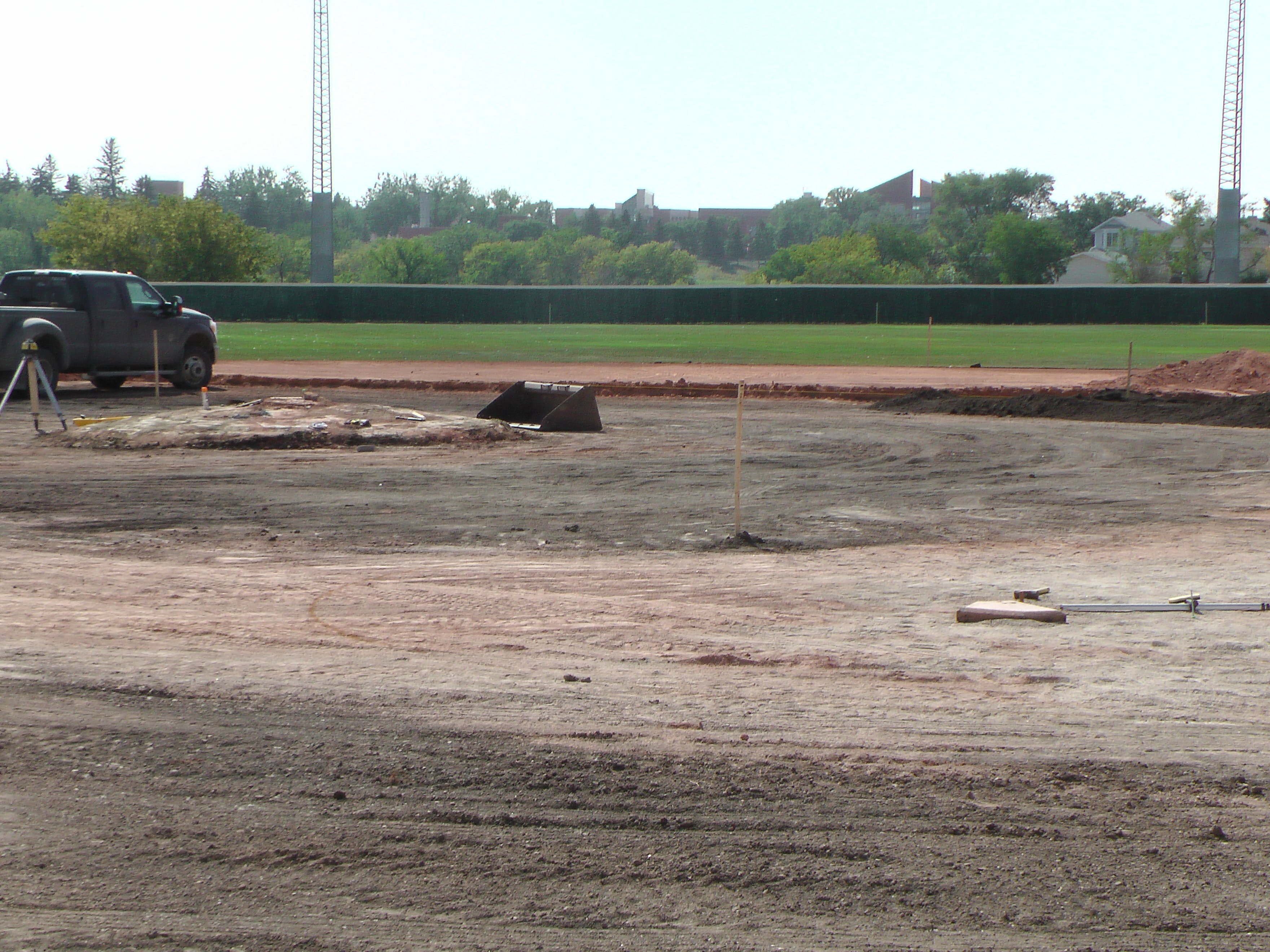 Aug 22 Optimist Park Field Renovations: New Top Soil Going In, after 45 dump trucks of dirt and grass removed! Pics and Video...check back for more!  - Image 13