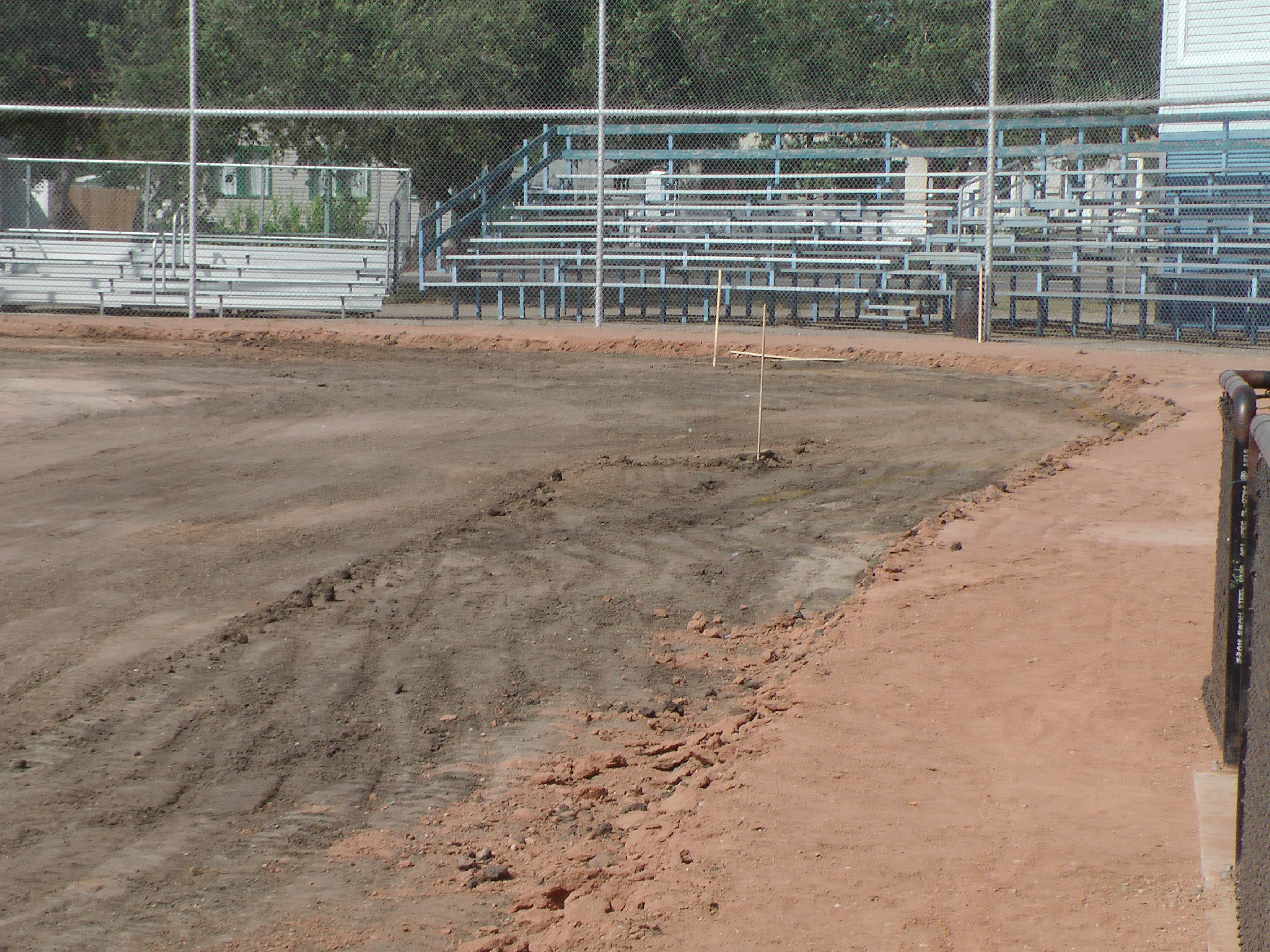 Aug 22 Optimist Park Field Renovations: New Top Soil Going In, after 45 dump trucks of dirt and grass removed! Pics and Video...check back for more!  - Image 5