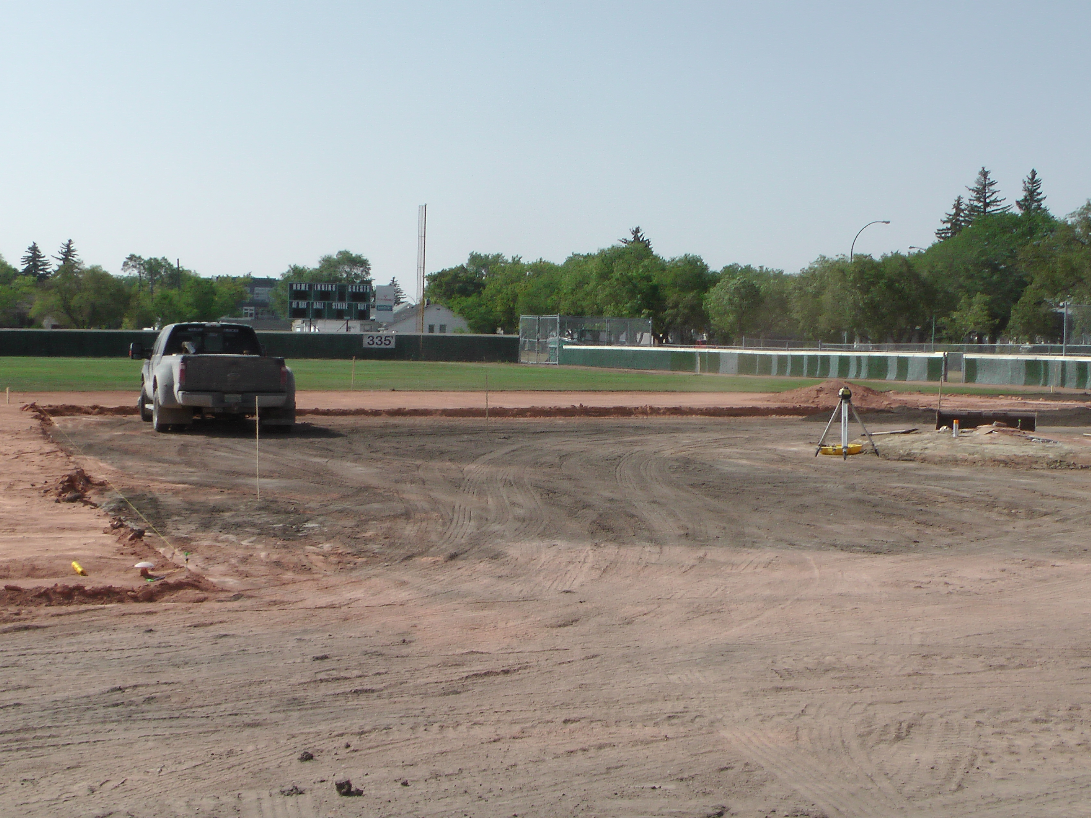 Aug 22 Optimist Park Field Renovations: New Top Soil Going In, after 45 dump trucks of dirt and grass removed! Pics and Video...check back for more!  - Image 6