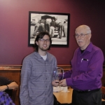 Awards Night Regina Optimist Baseball Association on Nov 26/18, held at Ricky's on Albert Street, at monthly Regina Optimist Club Meeting.