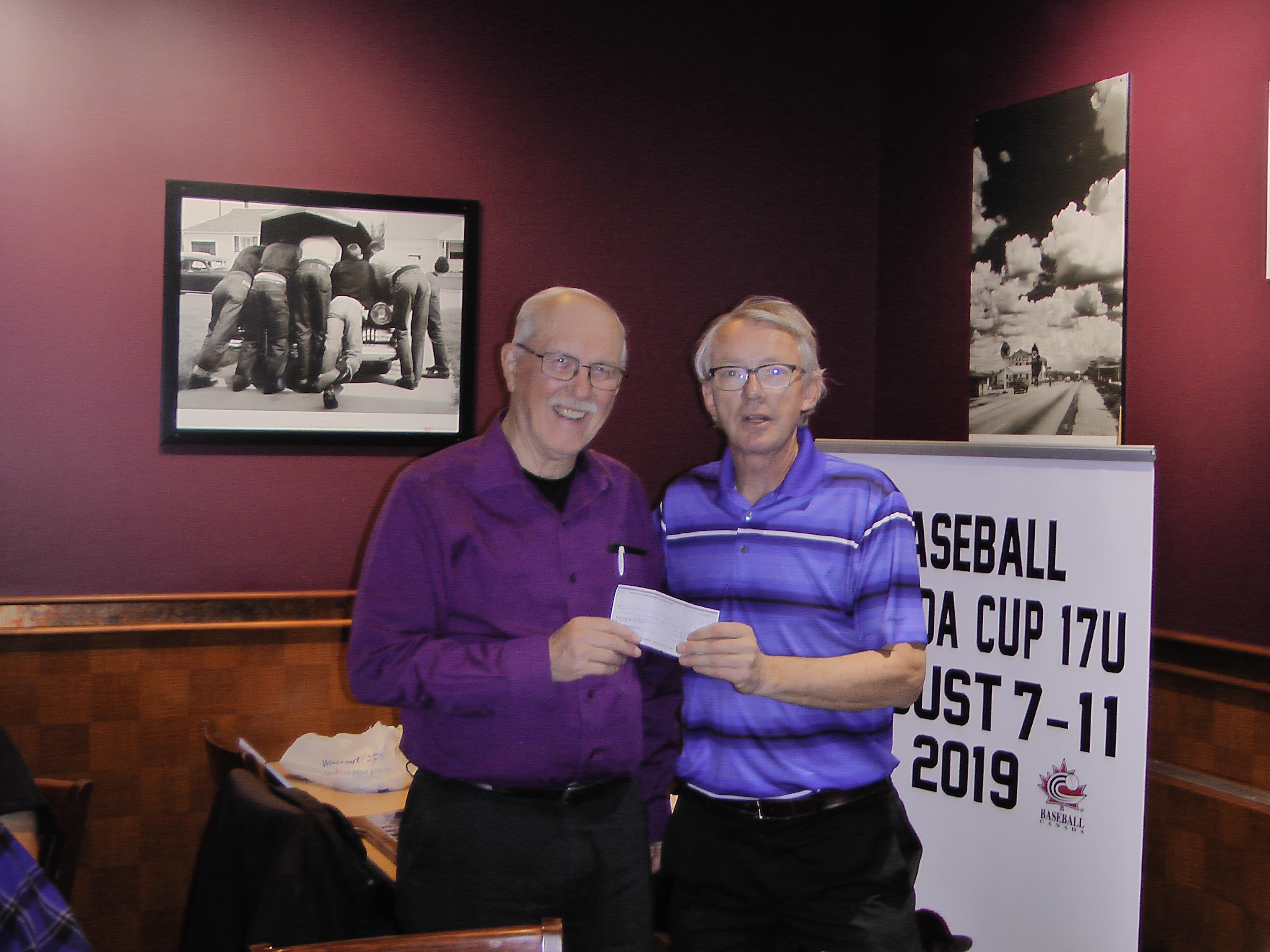 Awards Night Regina Optimist Baseball Association on Nov 26/18, held at Ricky's on Albert Street, at monthly Regina Optimist Club Meeting. - Image 8