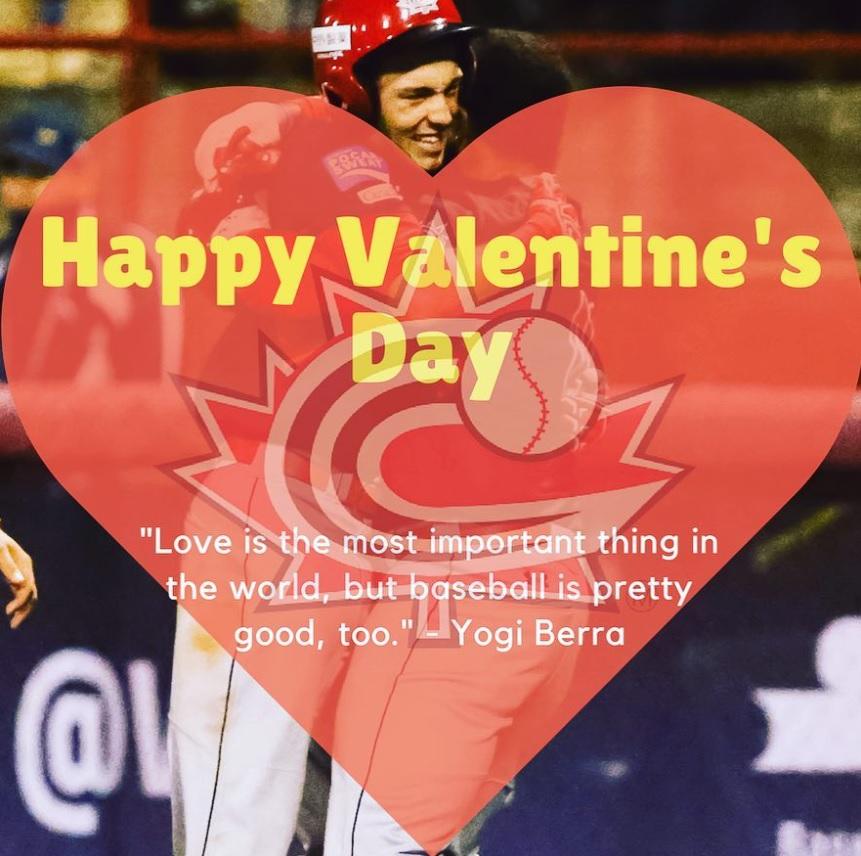 Happy Valentines Day from Regina Optimist Baseball Association and Park  - Image 1