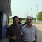 President Brian Rankin and Vice President Bob Rajotte (Optimist Baseball Association/Park) Want To Thank You!