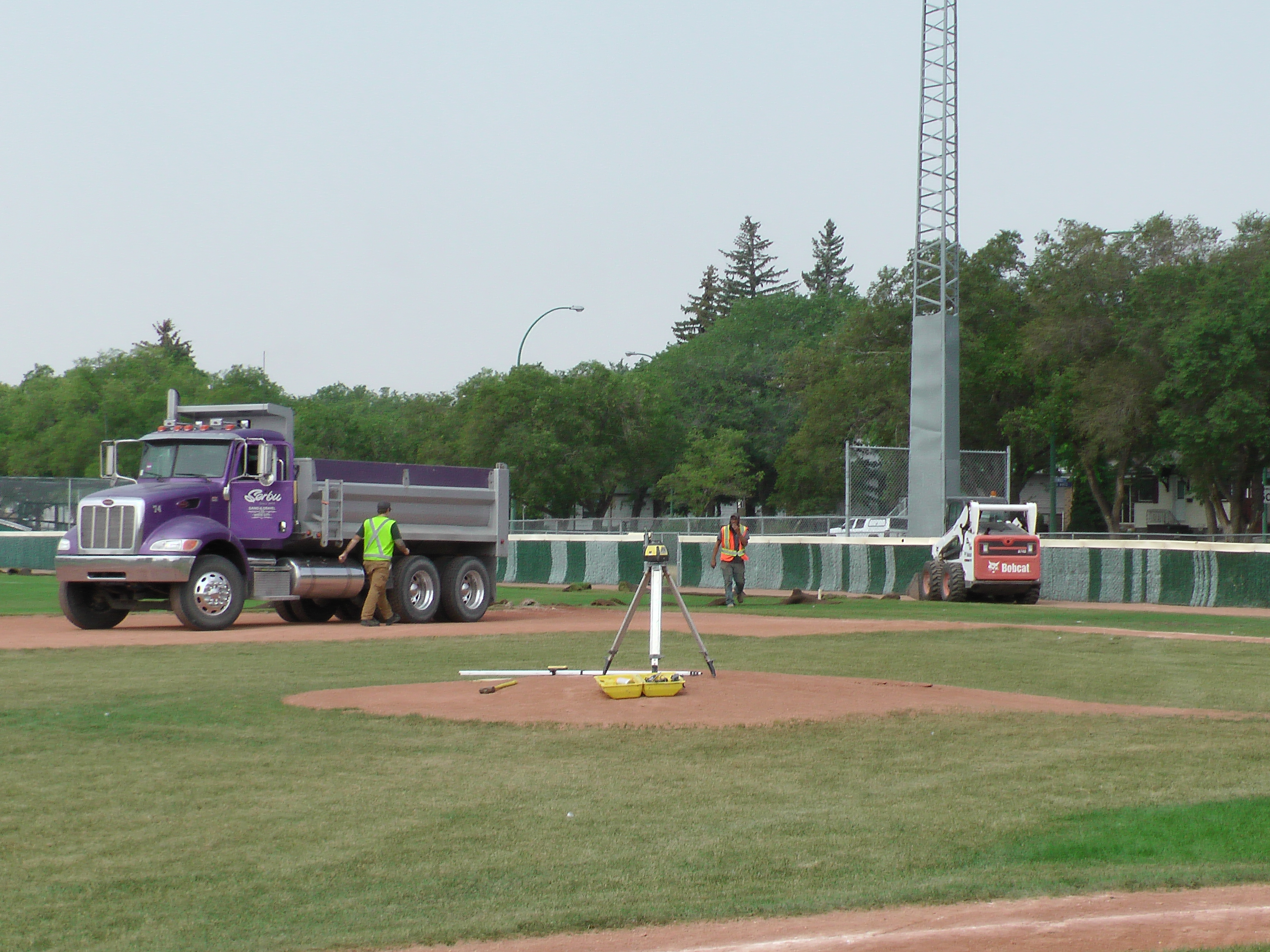 Regina Optimist Park Field Renovations Have Started! Aug 17 2018! Videos and Pics. Check Back for more pics and video to be added!  - Image 12