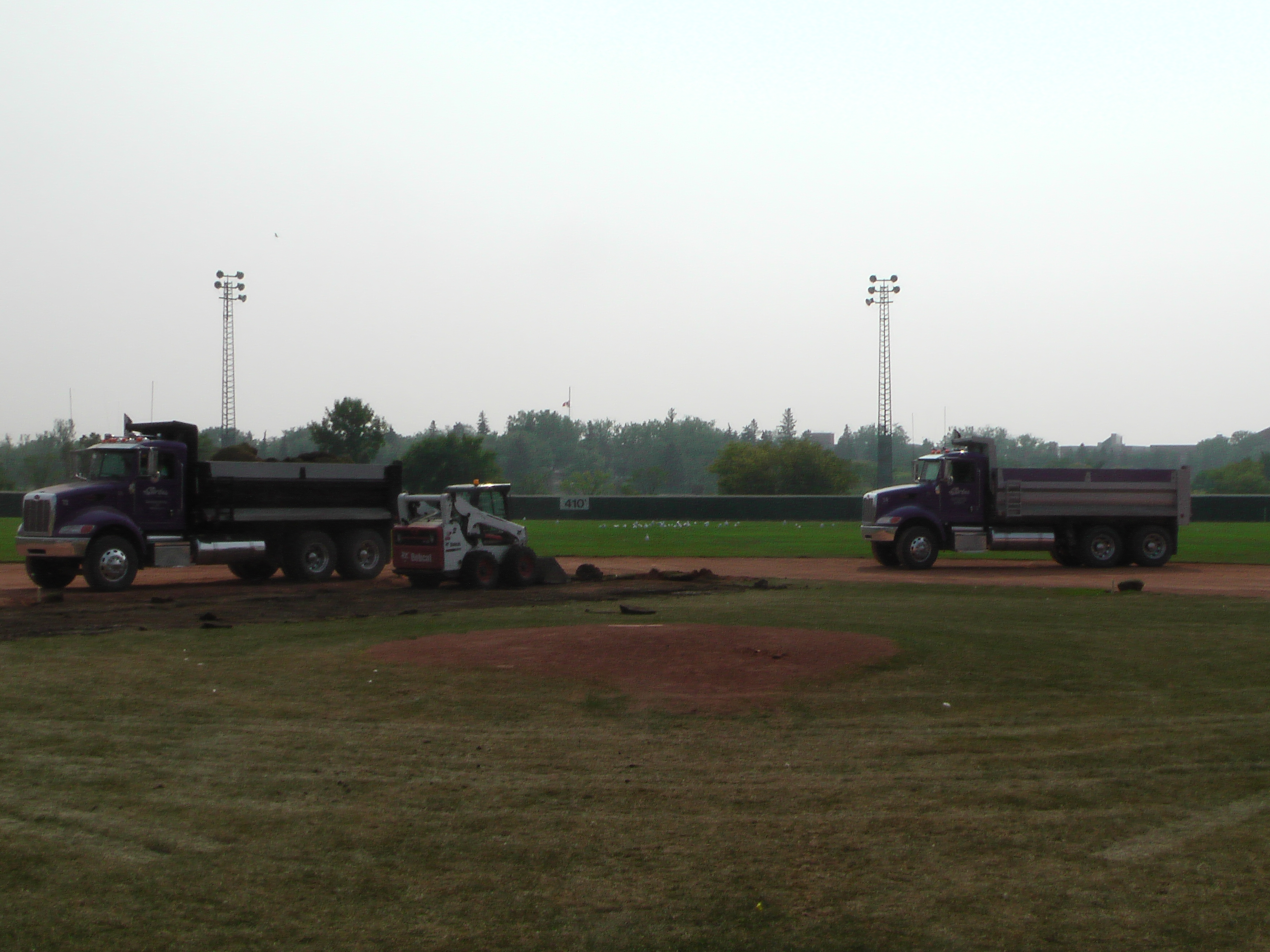 Regina Optimist Park Field Renovations Have Started! Aug 17 2018! Videos and Pics. Check Back for more pics and video to be added!  - Image 15