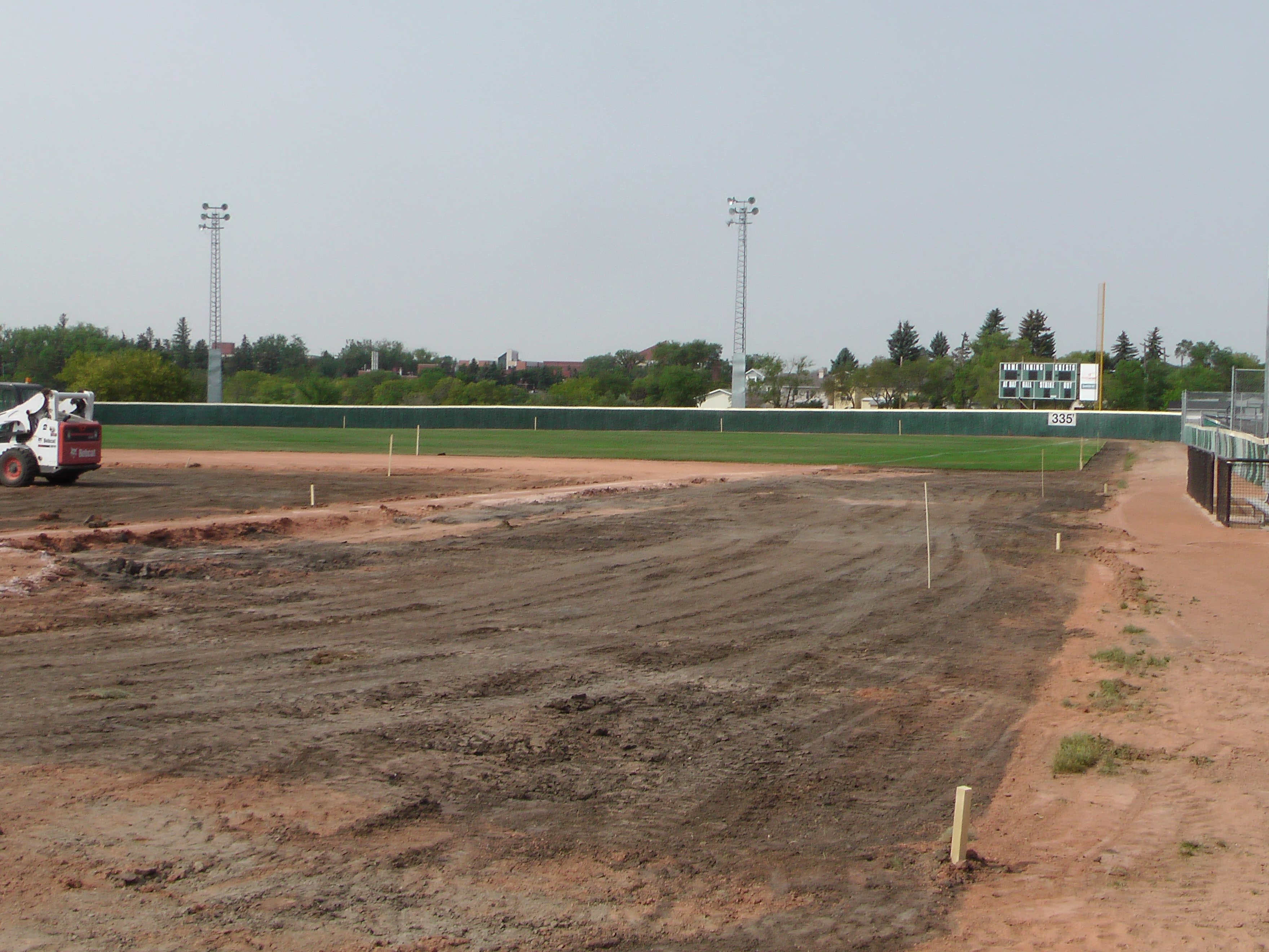 Regina Optimist Park Field Renovations Have Started! Aug 17 2018! Videos and Pics. Check Back for more pics and video to be added!  - Image 22
