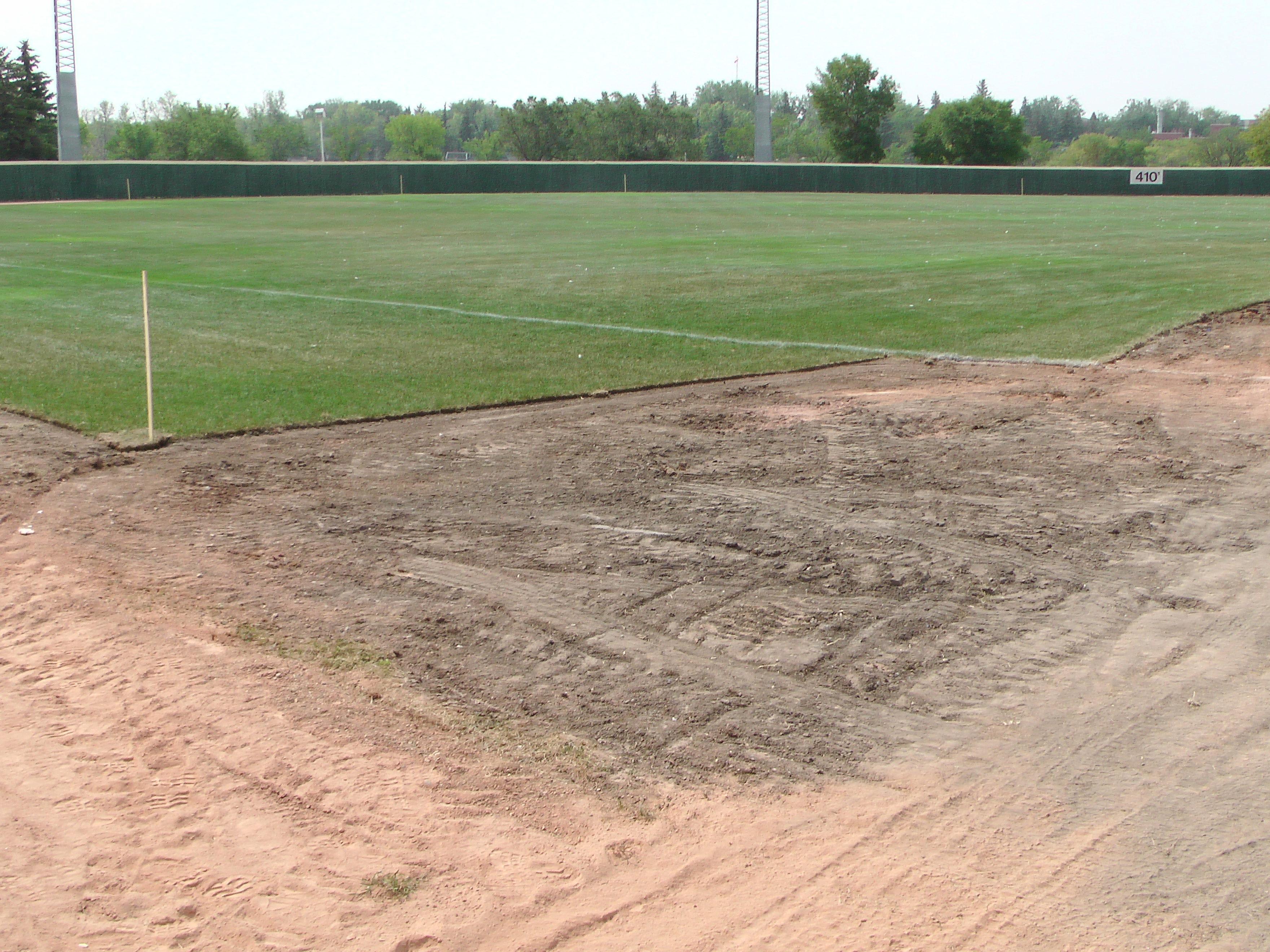 Regina Optimist Park Field Renovations Have Started! Aug 17 2018! Videos and Pics. Check Back for more pics and video to be added!  - Image 28