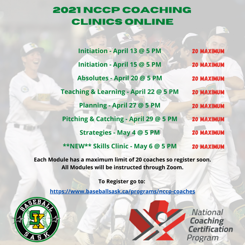 2021 NCCP Coaching Clinics Online