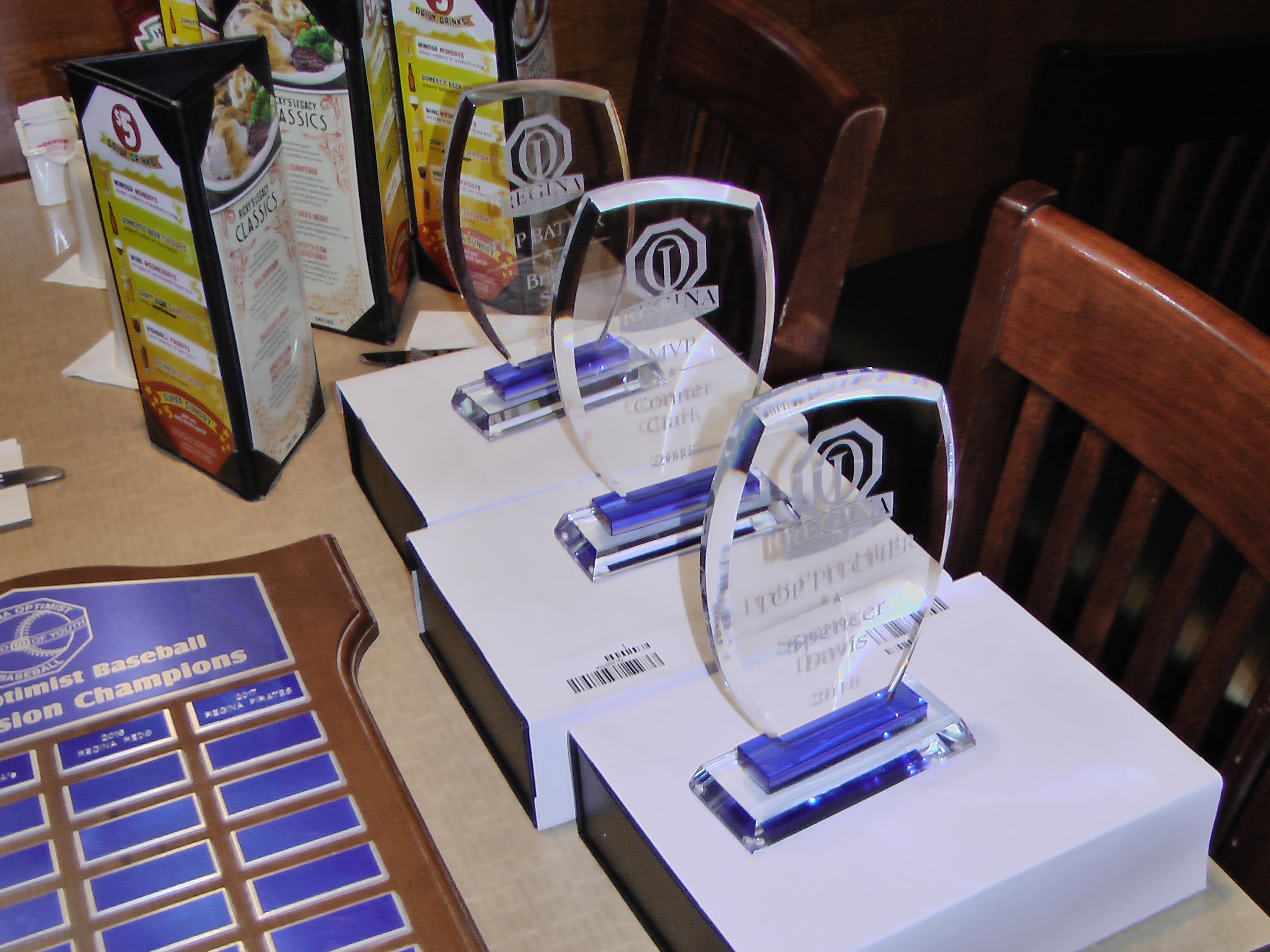 Awards Night Regina Optimist Baseball Association on Nov 26/18, held at Ricky's on Albert Street, at monthly Regina Optimist Club Meeting. - Image 7