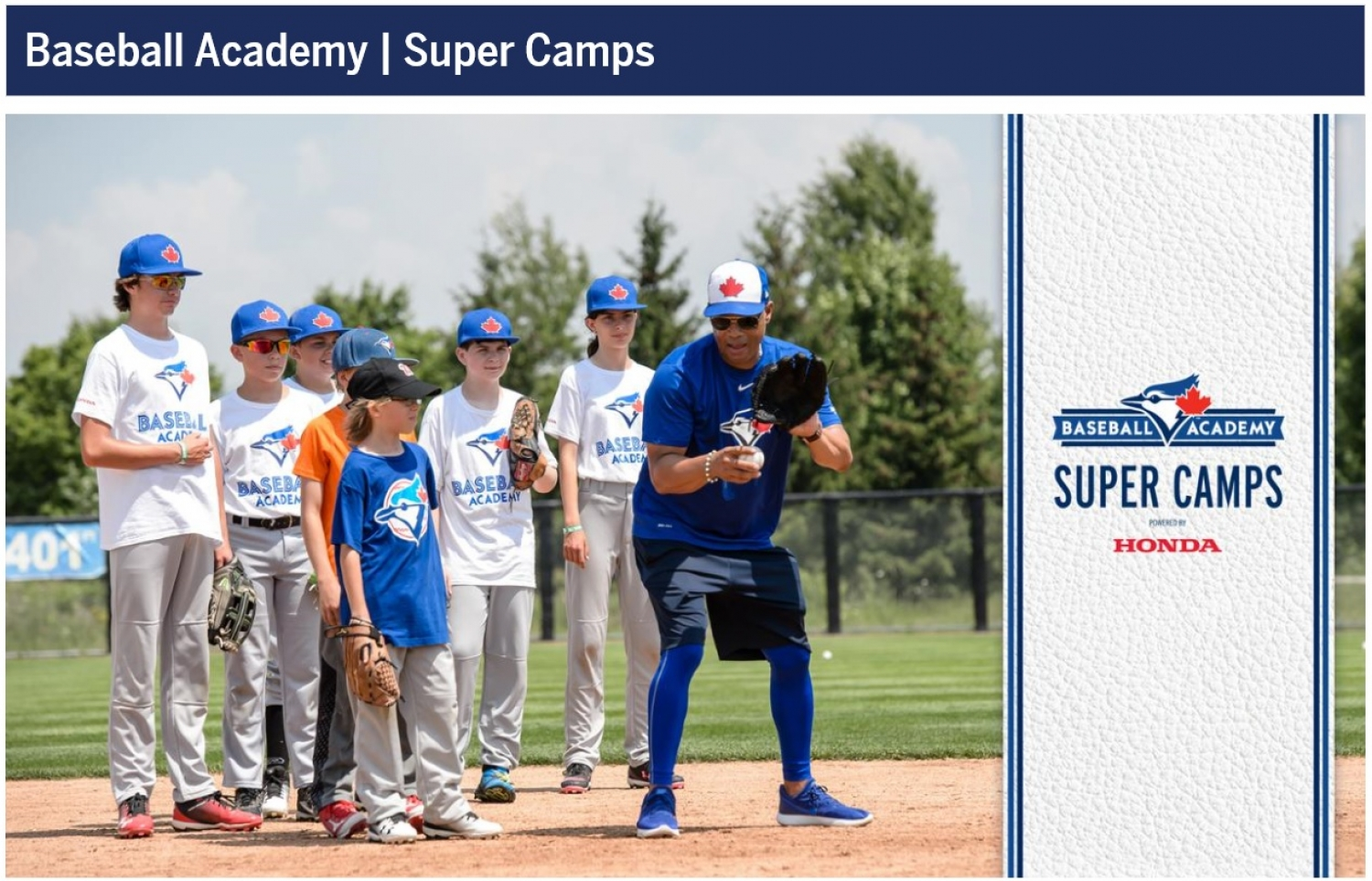 Blue Jays Super Camp Coming to Regina Optimist Baseball Park July 8 -9, 2019 !!!