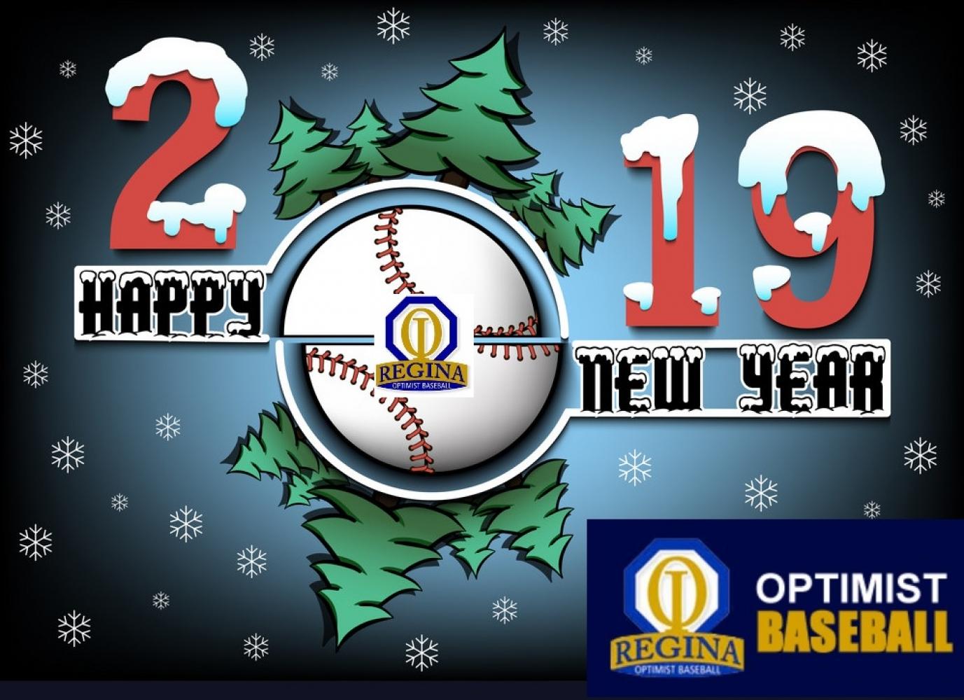 Happy New Year from Regina Optimist Baseball Association & Park !!!