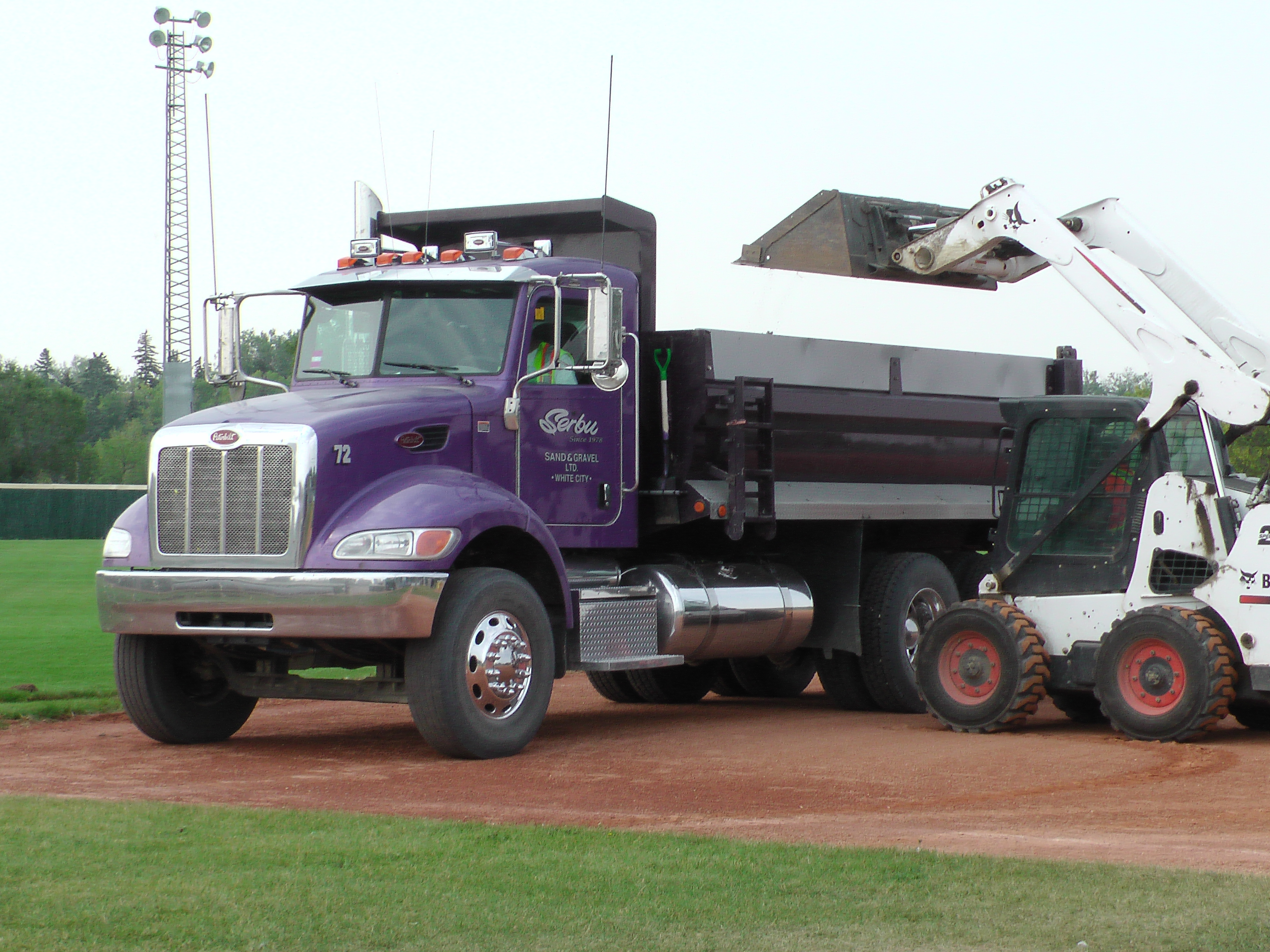 Regina Optimist Park Field Renovations Have Started! Aug 17 2018! Videos and Pics. Check Back for more pics and video to be added!  - Image 1