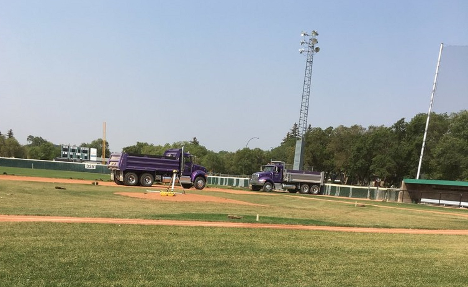Regina Optimist Park Field Renovations Have Started! Aug 17 2018! Videos and Pics. Check Back for more pics and video to be added!  - Image 13