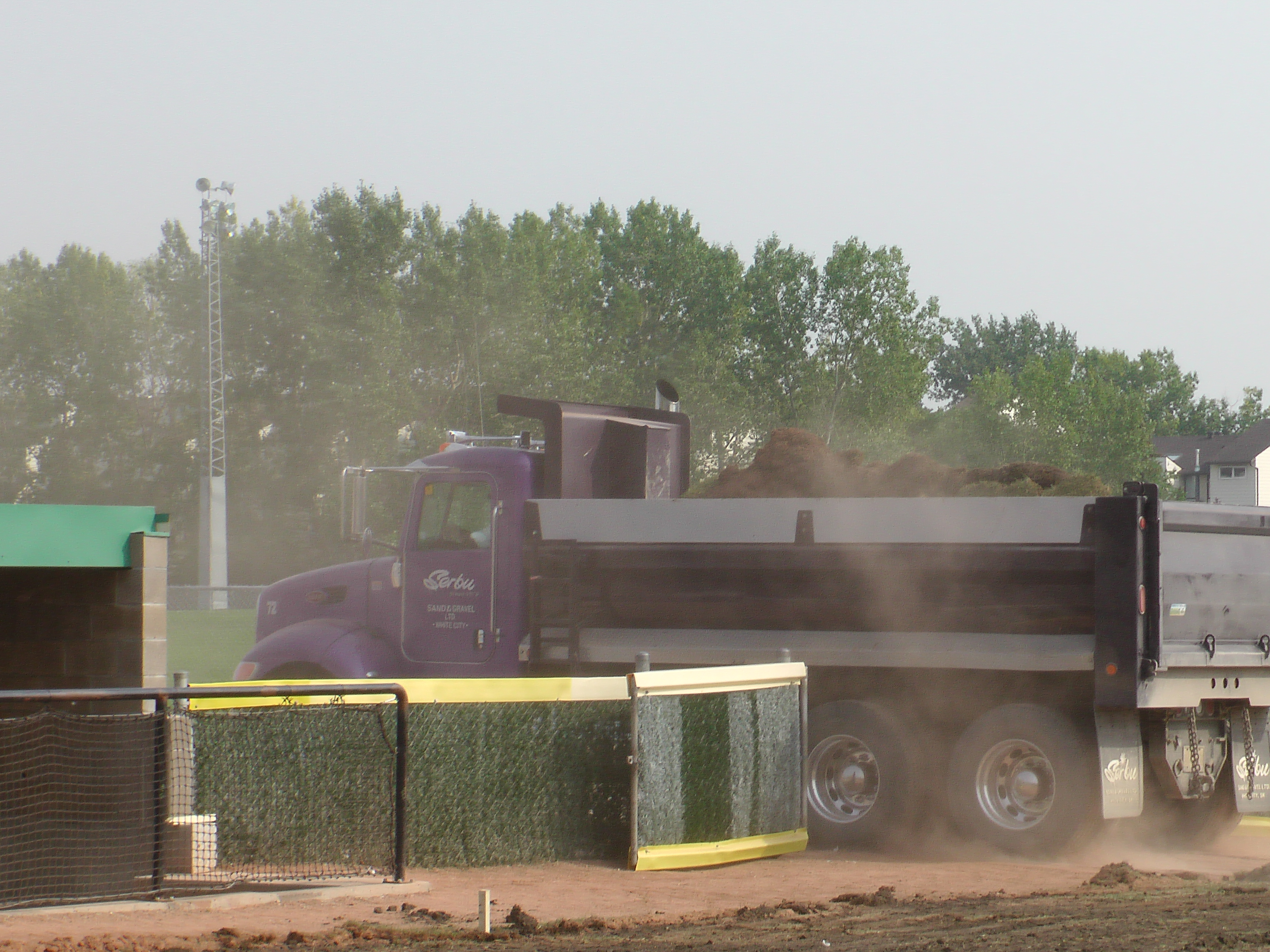 Regina Optimist Park Field Renovations Have Started! Aug 17 2018! Videos and Pics. Check Back for more pics and video to be added!  - Image 16