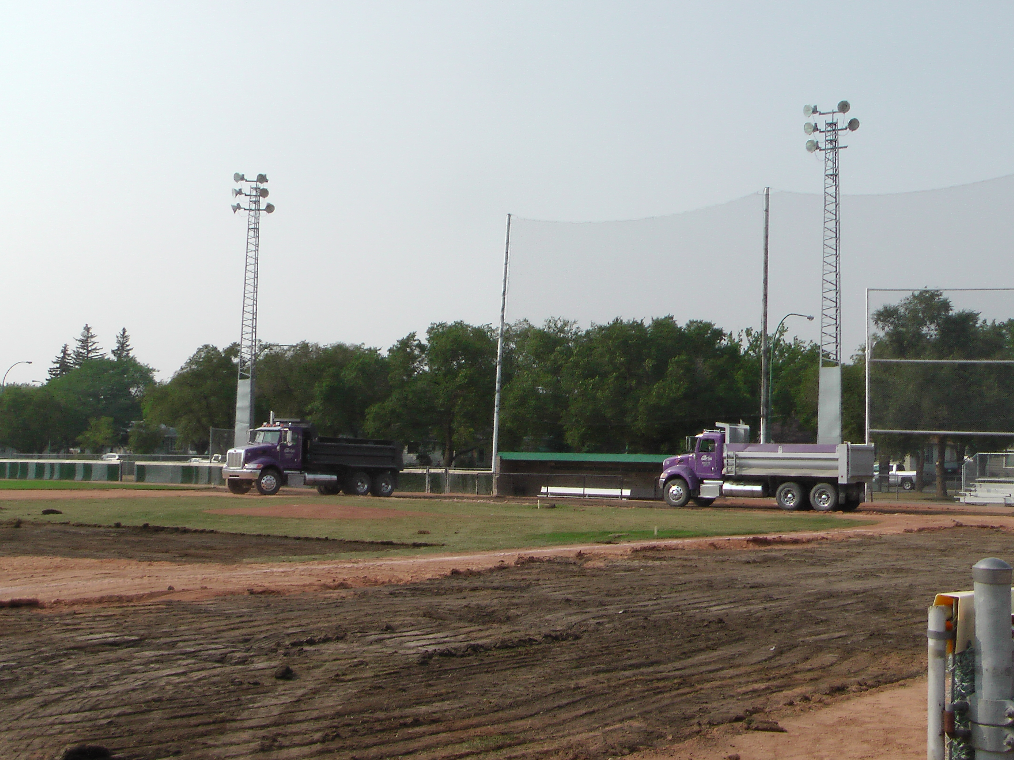 Regina Optimist Park Field Renovations Have Started! Aug 17 2018! Videos and Pics. Check Back for more pics and video to be added!  - Image 18