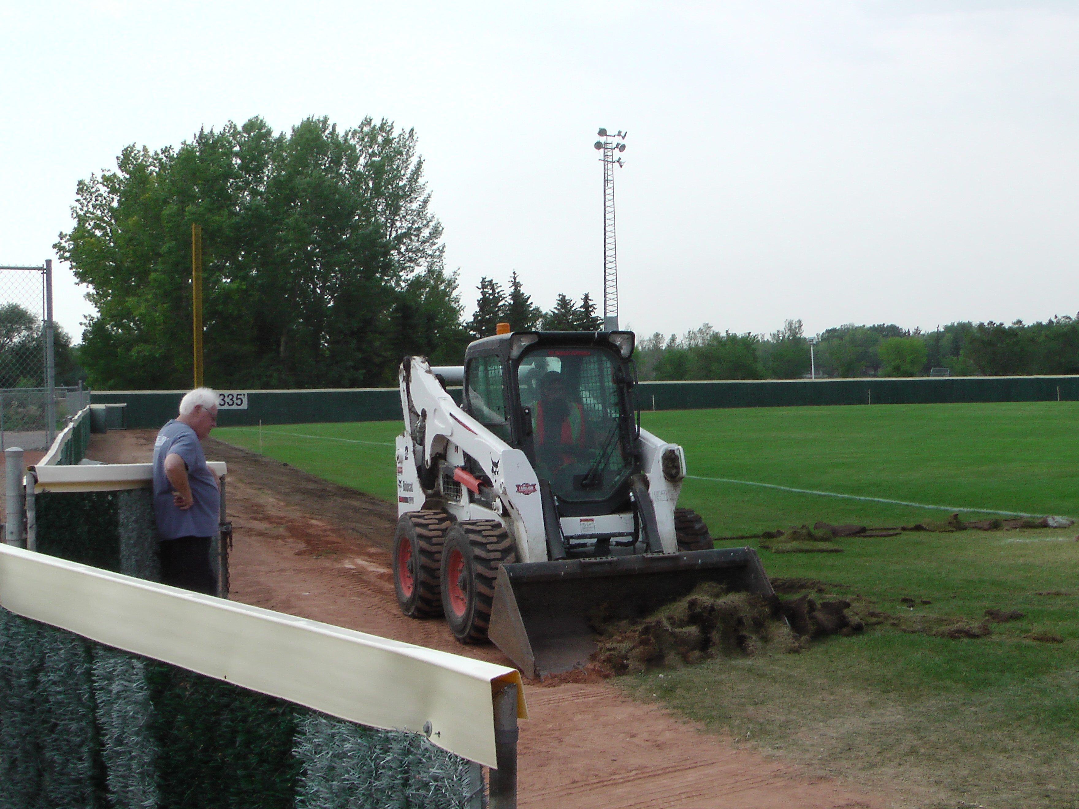 Regina Optimist Park Field Renovations Have Started! Aug 17 2018! Videos and Pics. Check Back for more pics and video to be added!  - Image 2