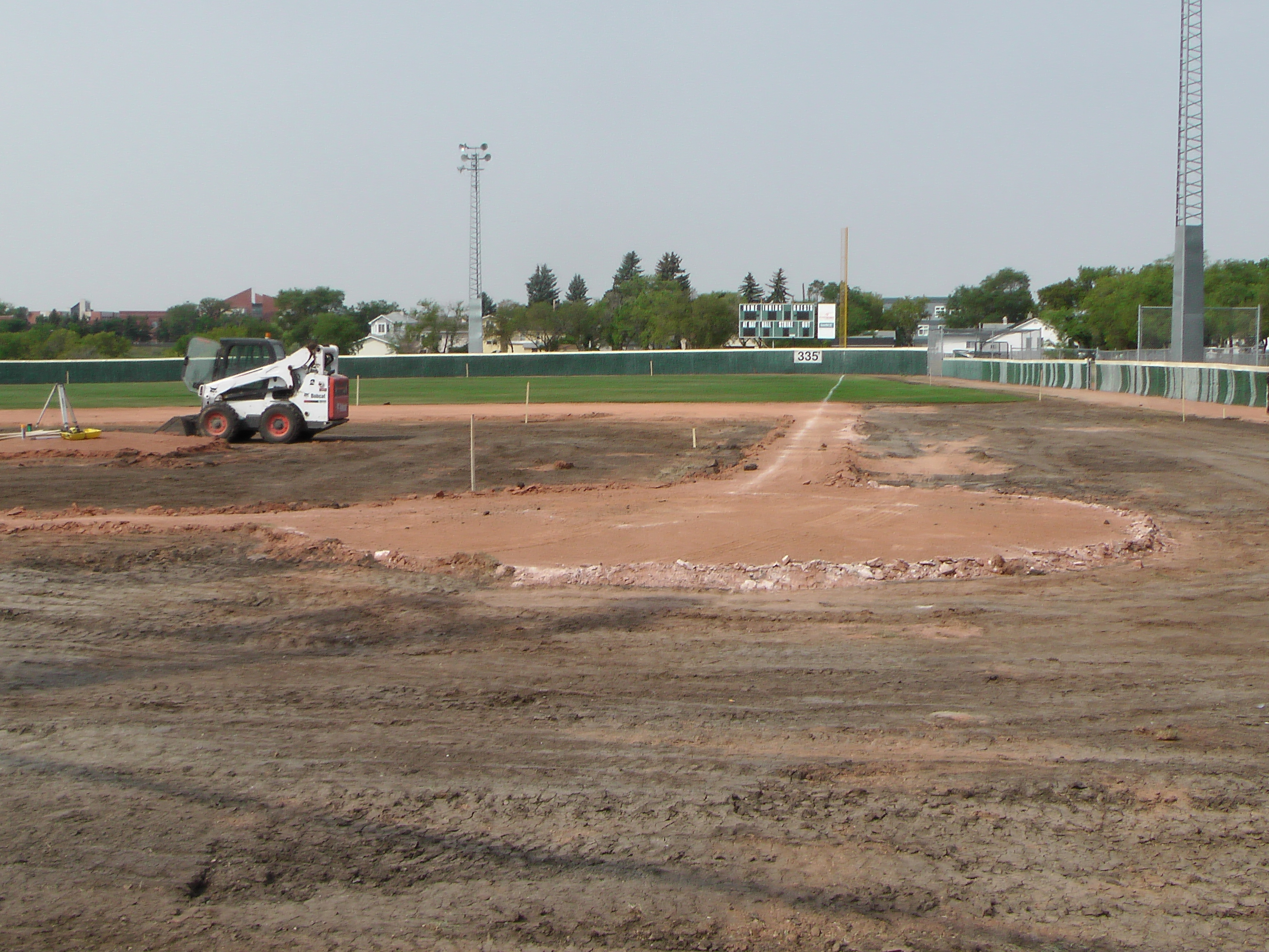 Regina Optimist Park Field Renovations Have Started! Aug 17 2018! Videos and Pics. Check Back for more pics and video to be added!  - Image 25