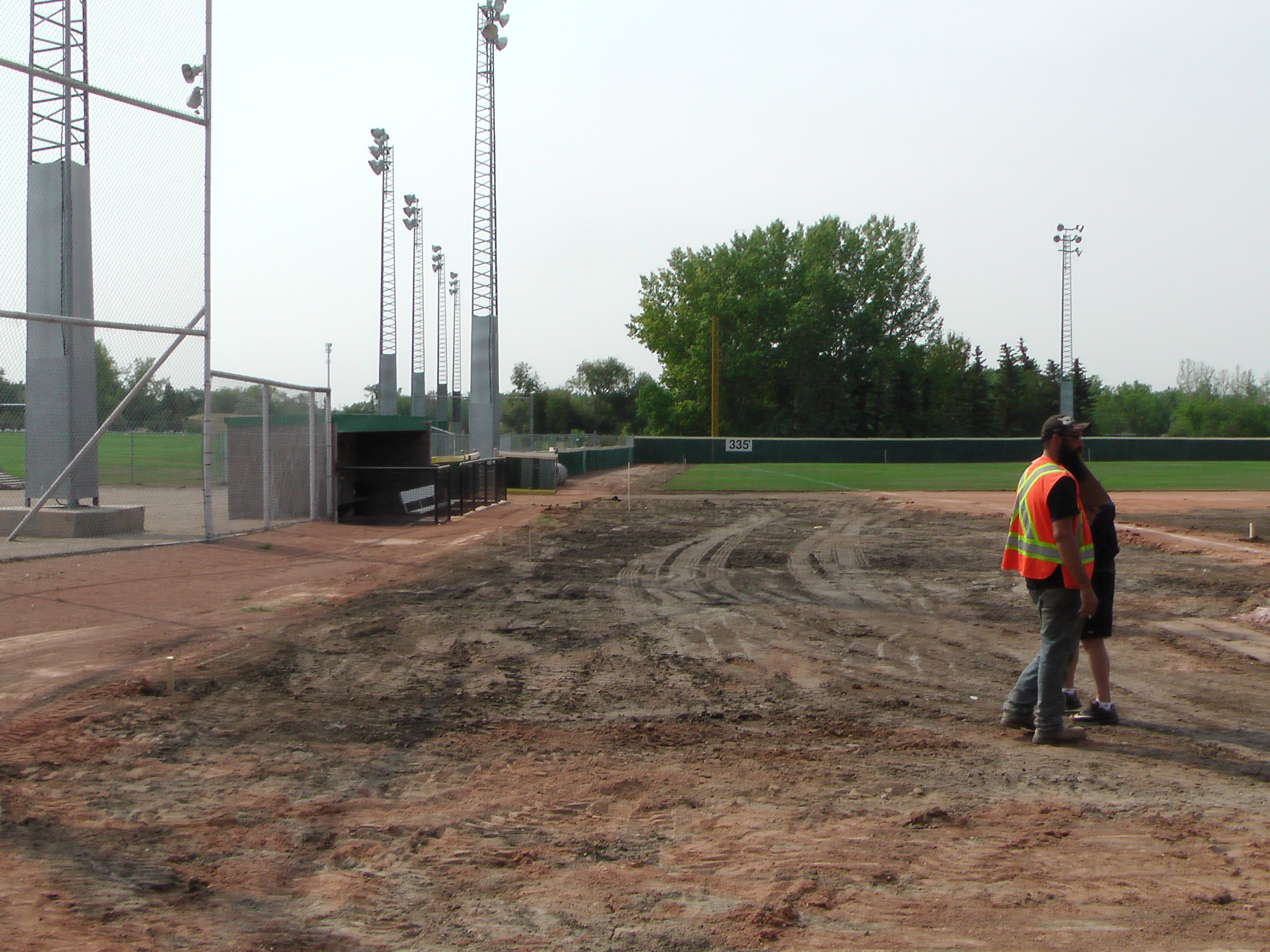 Regina Optimist Park Field Renovations Have Started! Aug 17 2018! Videos and Pics. Check Back for more pics and video to be added!  - Image 26