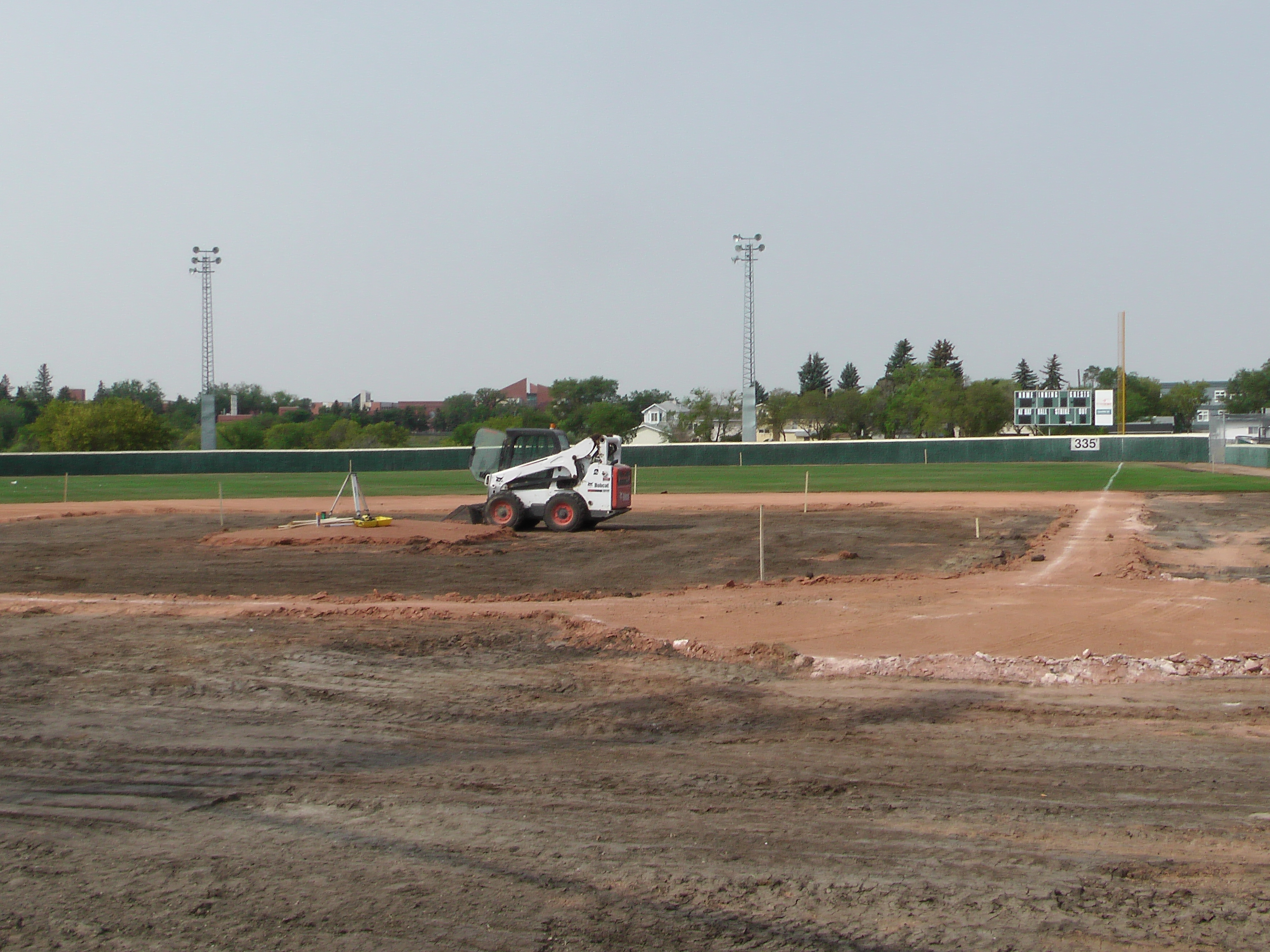 Regina Optimist Park Field Renovations Have Started! Aug 17 2018! Videos and Pics. Check Back for more pics and video to be added!  - Image 27