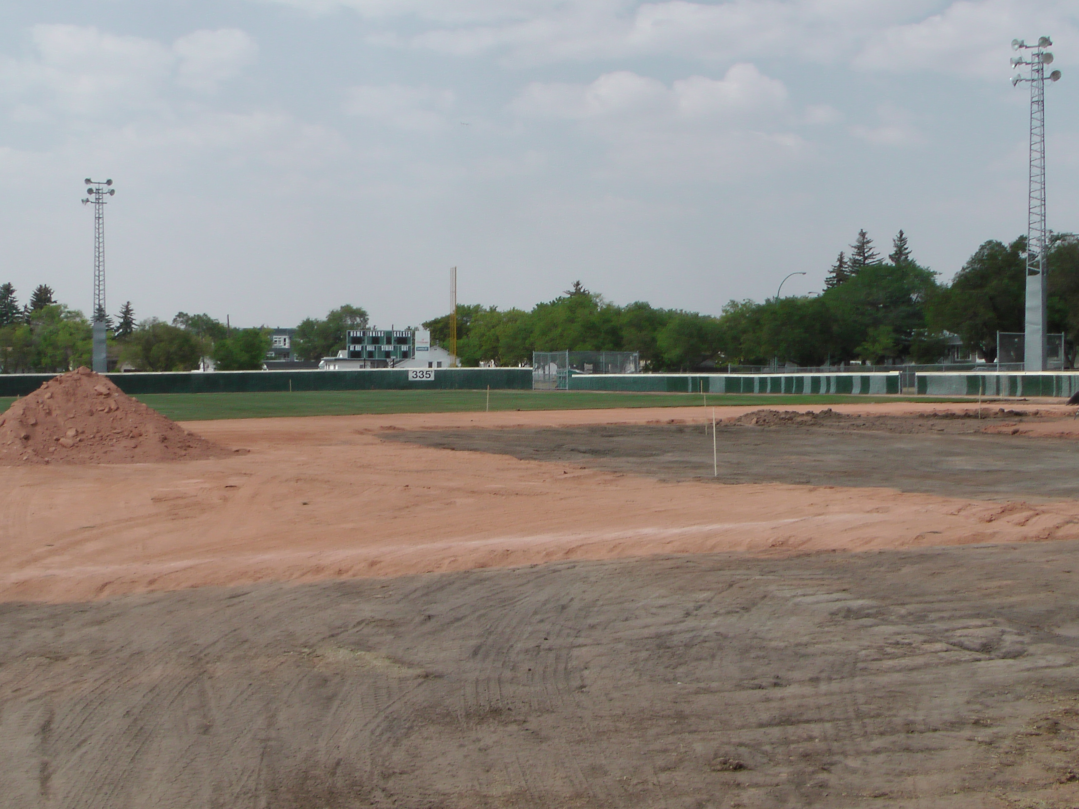Regina Optimist Park Field Renovations Have Started! Aug 17 2018! Videos and Pics. Check Back for more pics and video to be added!  - Image 32