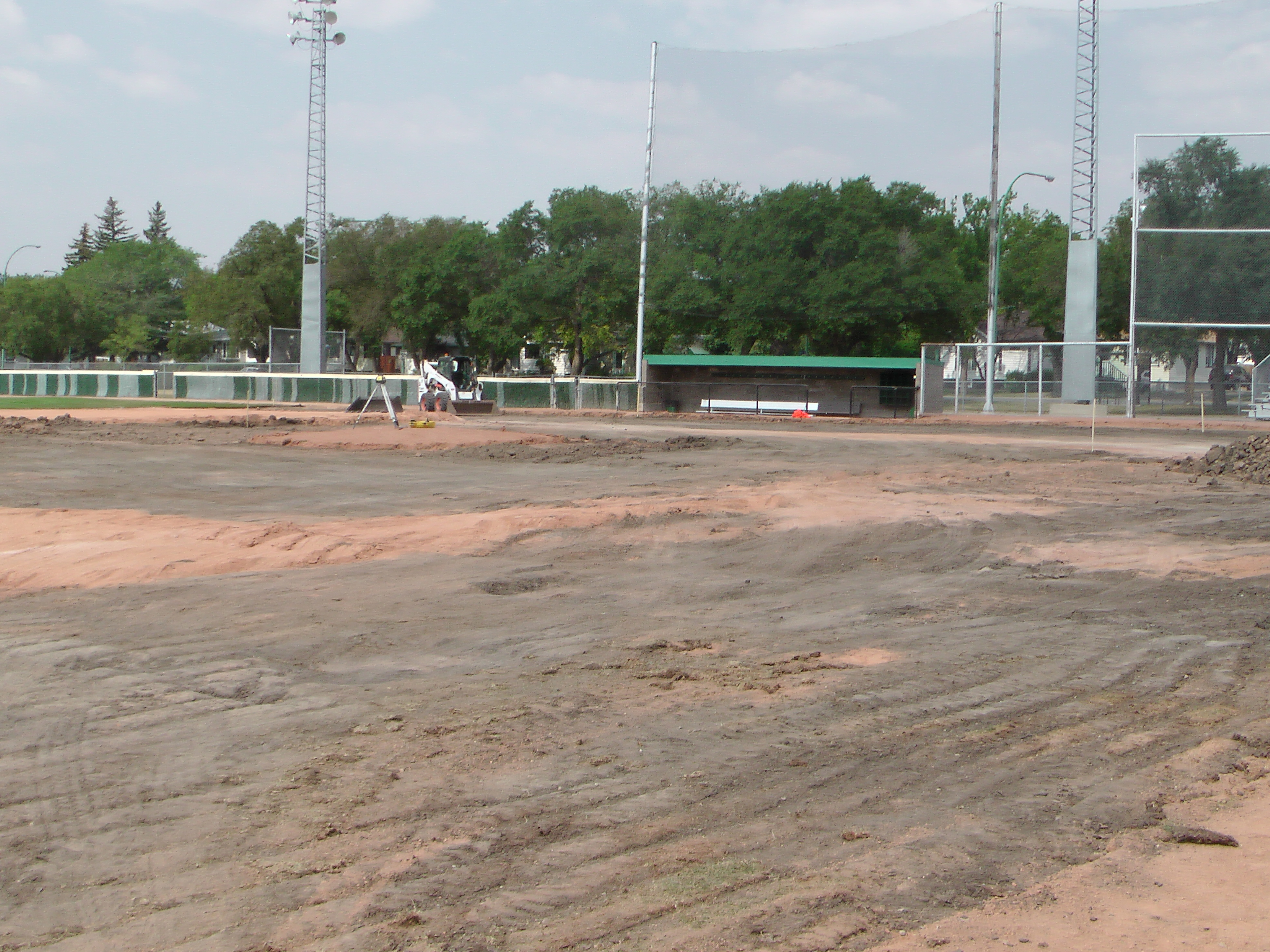 Regina Optimist Park Field Renovations Have Started! Aug 17 2018! Videos and Pics. Check Back for more pics and video to be added!  - Image 33