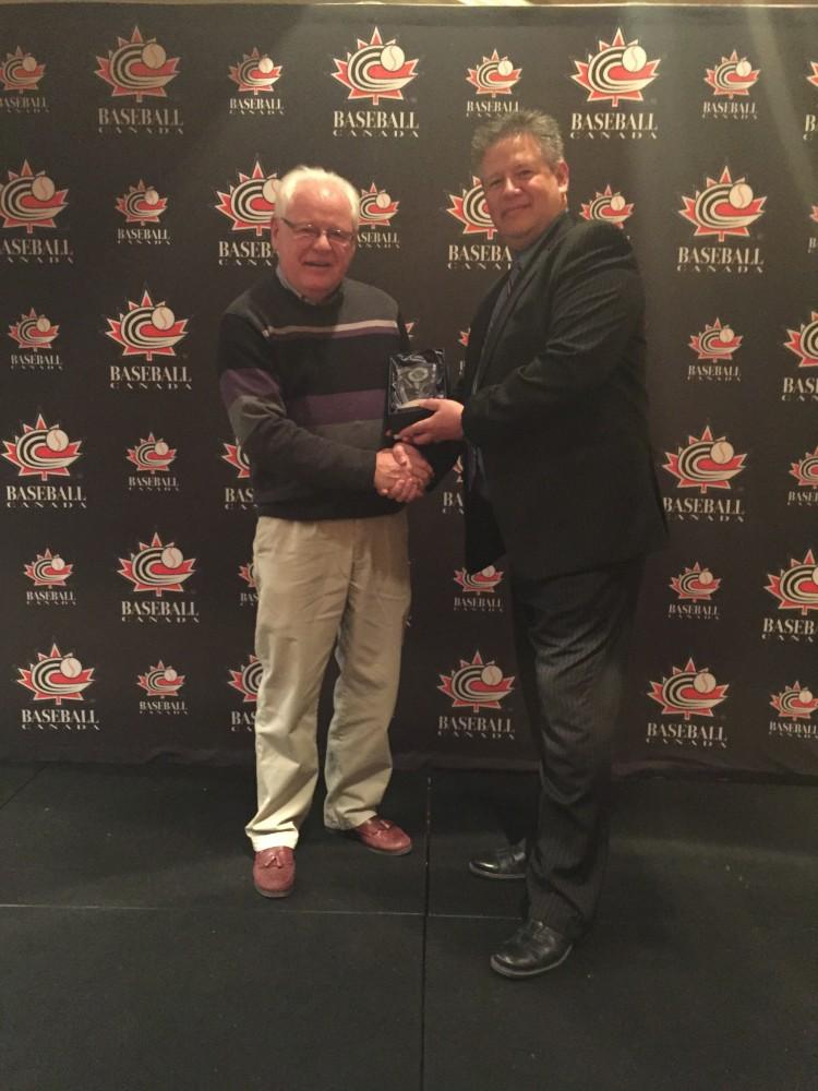 Rod Palaniuk, 2015 Winner of the Joe McDonald Special Award of Merit! Congratulations!