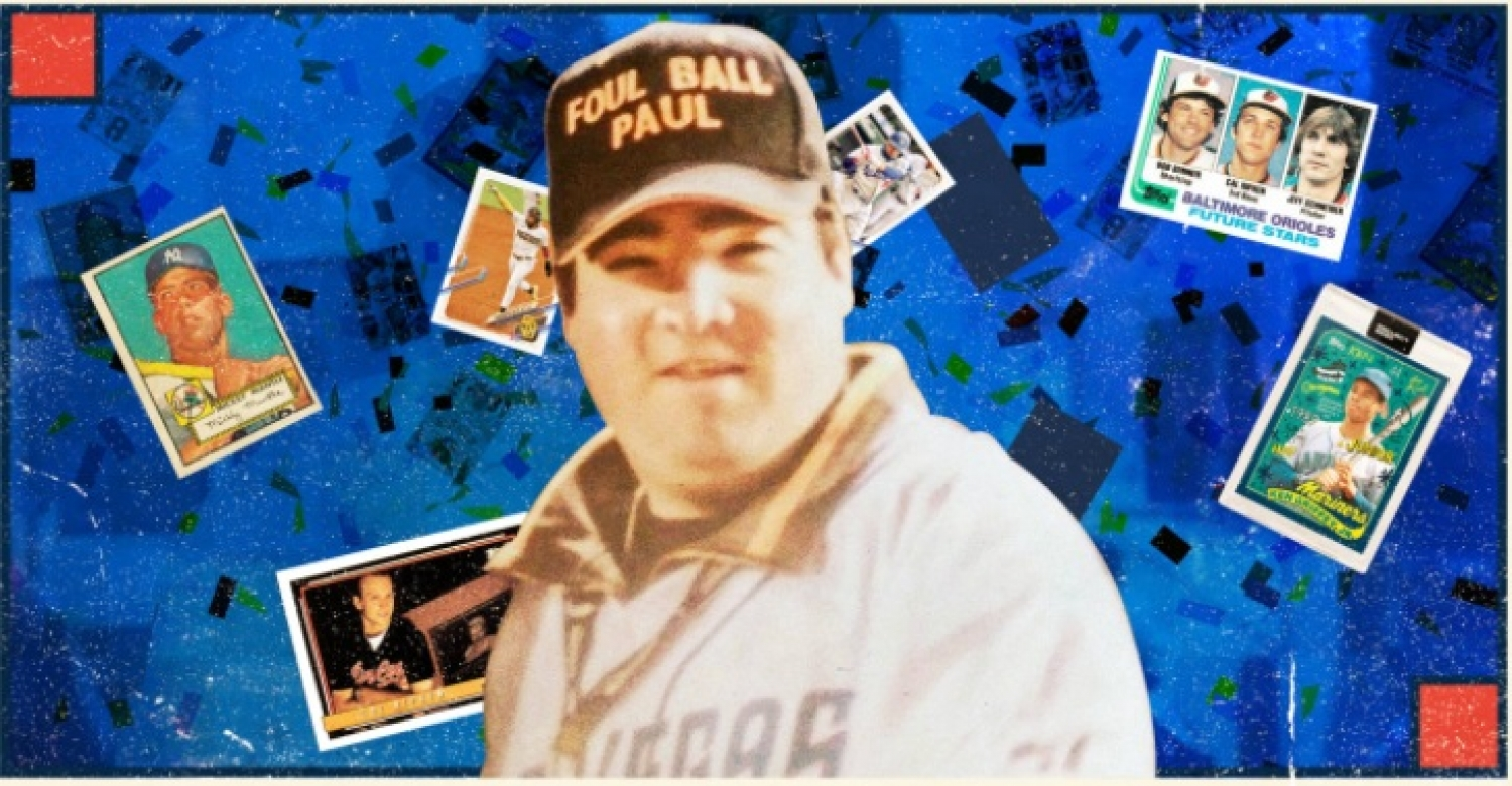 The Man With Most Baseball Cards In The World