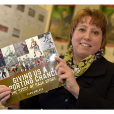 Giving Us A Sporting Chance, The Story of Sask Sport by Lynn Gidluck, Book Launch Jan 28/2016