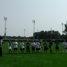 Aug 19 2014 Blue Jays Camp Regina Optimist Baseball Park