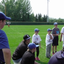 Aug 19 2014 Blue Jays Camp Regina Optimist Park