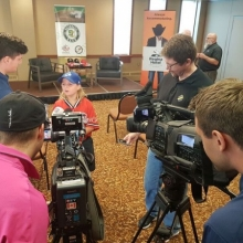 July 2016 Media Relase and Ethan Perron, Bat Boy